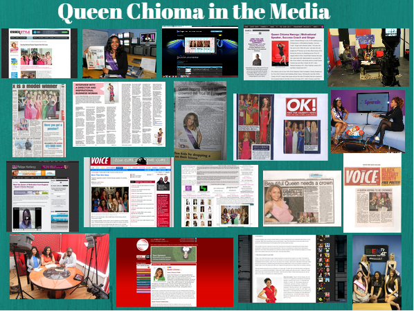 queen in the media press and tv